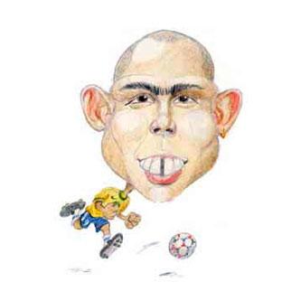 karikatuur Ronaldo
